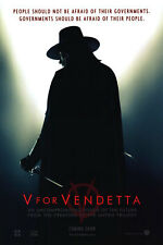 V for Vendetta Advance Original Movie Poster Double Sided 27X40
