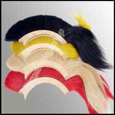 BLACK PLUME RED PLUME WHITE PLUME YELLOW PLUME FOR GREEK CORINTHIAN ARMOR HELMET