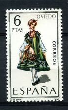 Spain 1969 SG#1967 Provincial Costumes Oviedo MNH #A40033