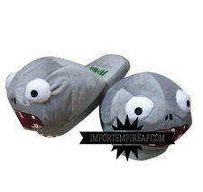 PIANTE CONTRO ZOMBI CIABATTE ZOMBIE plants vs zombies grey 2 slippers pantofole
