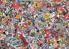 6 x A5 Sticker Bomb Sheet - JDM EURO DRIFT VW - Design 524 - (148MM x 210MM)