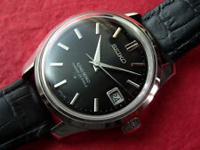 MEN'S  KING SEIKO  HI BEAT MANUAL WINDING  4402-8000  BLACK DIAL  EXCELLENT