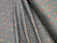 Baumwoll Stoff DOUBLE GAUZE • Kokka Nani Iro Pocho • Kupfer 0,5m