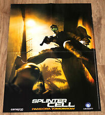 Tom Clancy's Splinter Cell Pandora Tomorrow Champions of Norrath Poster 58x39cm