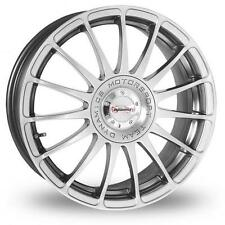 "18"" Team Dyanamics MONZA R Hyper Silver 5x100 et45 Brand New Alloy Wheels Only"