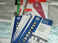 CHELSEA HOME AND AWAY PROGRAMMES FROM 1965/6 - SELECT FROM LIST
