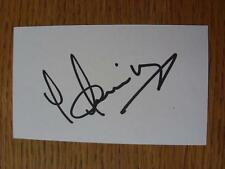 50's-2000's Autographed White Card: Akinbiyi, Ade - Wolverhampton Wanderers, Lei