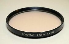 CONTAX Camera 77mm 1A MC Filter for Carl Zeiss Planar 55/1.2 and 85/1.2 Lens