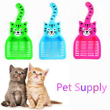 Cat Dog Pet Poop Scoop Sieve Litter Scoop Animals Wastes Cleaning Plastic