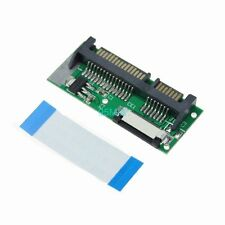 24 Pin SATA LIF To 22 Pin SATA Macbook Air SSD HDD Adapter Card + Cable TW