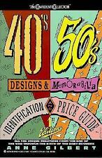 Cc 40 & 50's Designs.ipg (Confident Collector) Gilbert, Ann Paperback