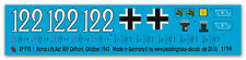 1/16 Decals Tiger I s. Pz. Abt 509-Ostfront 43  975