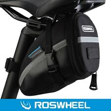 Roswheel Waterproof Bike Bicycle Cycling Saddle Rear Seat Bag Pouch Tail Storage