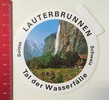 Aufkleber/Sticker: Lauterbrunnen - Tal Der Wasserfälle - Schweiz (19031656)