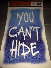 """Halloween Creepy, Spooky Cling-On """"You Can't Hide"""""""