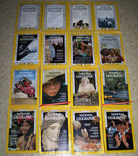 NATIONAL GEOGRAPHIC 1926 to PRESENT YOUR CHOICE