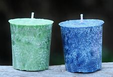 8 pack EUCALYPTUS & CITRONELLA VOTIVE Candles 160 hr total burn INSECT REPELLENT