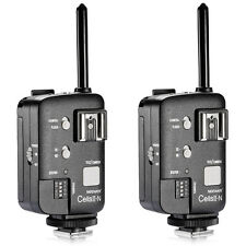 Neewer CellsII-N All-in-One High Sync Speed Wireless Transceiver (2 pcs)