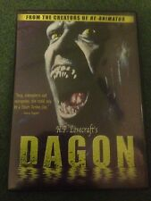 DAGON DVD OOP RARE HORROR H P LOVECRAFT