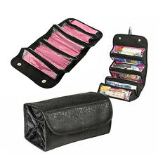 Portable Black Multifunction Folding Travel Cosmetic Bag Makeup Pouch Toiletry*