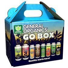 General Organics GO Box Starter Kit General Hydroponics Organic Nutrients