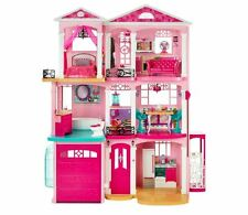 Barbie Dream House Dollhouse Glam Playset Vacation Mansion 3-Story Furniture New