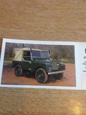 Trade Card The Patrick Collection Land Rover 1949 With Coupon M48800