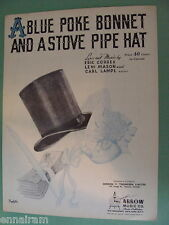 A Blue Poke Bonnet & a Stove Pipe Hat 1944  Correa Mason Lampl cover by Barbelle