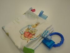 Baby Taggie Blanket Comforter Sensory Toy - Beatrix Potter Peter Rabbit