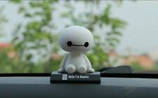 1pcs New  Baymax Robot Car Toys Car Accessories Shaking his head Room decoration