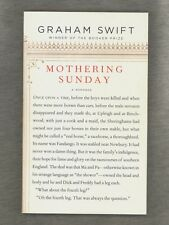 NEW Mothering Sunday: A Romance by Graham Swift 2016 ADVANCE UNCORRECTED PROOF