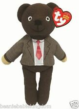 "TY Beanie * Mr Bean * Giacca in Teddy Bear & Tie 10"" - 46226-NUOVO STOCK"