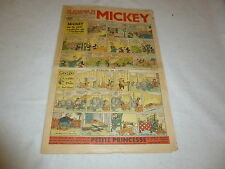LE JOURNAL DE MICKEY N°252  AOUT 1939  BE