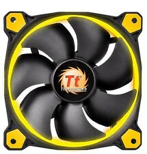 Thermaltake Riing 14 (140mm) ventilateur couvercle LED (Jaune)