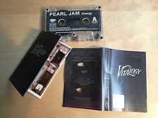 PEARL JAM - Vitalogy MC RARE POLISH PRESS 1994