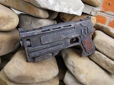Radioactive fallout weapon Gun 10 mm pistol rusty 3 post apocalyptic