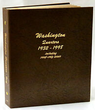 Dansco Coin Album 8140 Washington Quarters 1932-1998 with Proofs
