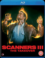 SCANNERS III THE TAKEOVER - BLU-RAY - UNCUT - SPECIAL EDITION - CHRISTIAN DUGUAY