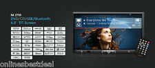 "Nakamichi NA2750 6.8"" In-Dash Touchscreen Multimedia DVD/CD/USB/SD Receiver w/ B"