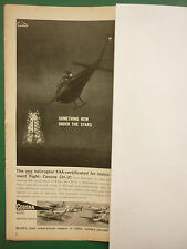 12/1960 PUB CESSNA AIRCRAFT MILITARY DIVISION CESSNA CH-1C HELICOPTER ROCKET AD
