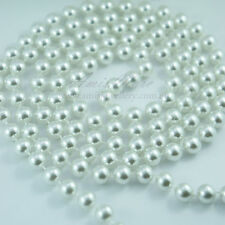 1.5 Meter 10mm White Pearl Garland String 4 Wedding/Bridal/Necklace/Decorations