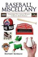 Books of Miscellany: Baseball Miscellany : Everything You Always Wanted to...