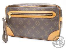 AUTH PRE-OWNED LOUIS VUITTON POCHETTE MARLY DRAGONNE GM CLUTCH PURSE M51825 NR