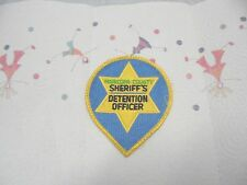 cloth police patch maricopa county detention officer arizona