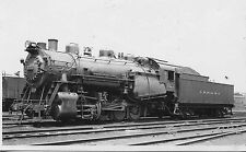 A740 RPPC 1930-40s CRR NJ JERSEY CENTRAL RAILROAD  ENGINE #323