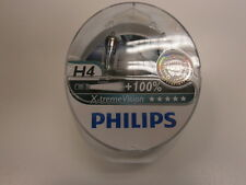Philips X-TREME VISION H4 Bulbs x2 100% Brighter ( Not Osram Night Breakers )