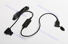 New Male P-Tap D-Tap (Input 8v to 22v) to Female USB 5v 2A DC Power Adapter