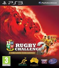 RUGBY CHALLENGE 2 THE LIONS TOUR EDITION - SONY PLAYSTATION 3 / PS3 GAME UK
