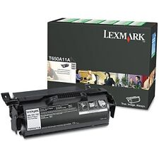Genuine Lexmark T650A11A Black Printer Toner Cartridge T650 T652 T654 T656