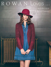 Rowan ::Sarah Hatton. Rowan Lowes... Kidsilk Haze & Felted Tweed:: book 9 design